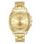 Mestige- Women's Gold Dial Alloy Band Watch MSWA3103