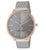 Nine West- Women's NW/1981 Sunray Dial Mesh Bracelet Watch