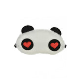 The Marshall- White Panda Soft Blindfold Eye Shade Sleep Mask - TM-ES-03