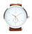 Bershka- Leather Analogue Watch With Braided Strap For Men