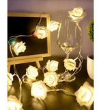 Shein- String lights illuminated with plum flowers 20 pieces