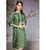 Nishat Linen- PPE19-52 Green Printed Stitched Lawn Shirt - 1PC