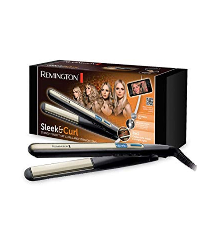 Remington- Sleek & Curl Hair Straightener (S6500)