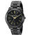 Michael Kors- Black Slim Runway Watch For Women MK3221