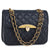 Silk Avenue - AG00668 - Navy Cross Body Bag With Gold Metal Work by Silk Avenue priced at #price# | Bagallery Deals