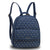 Silk Avenue - AG00712 - Navy Fashion Backpack School Bag by Silk Avenue priced at #price# | Bagallery Deals