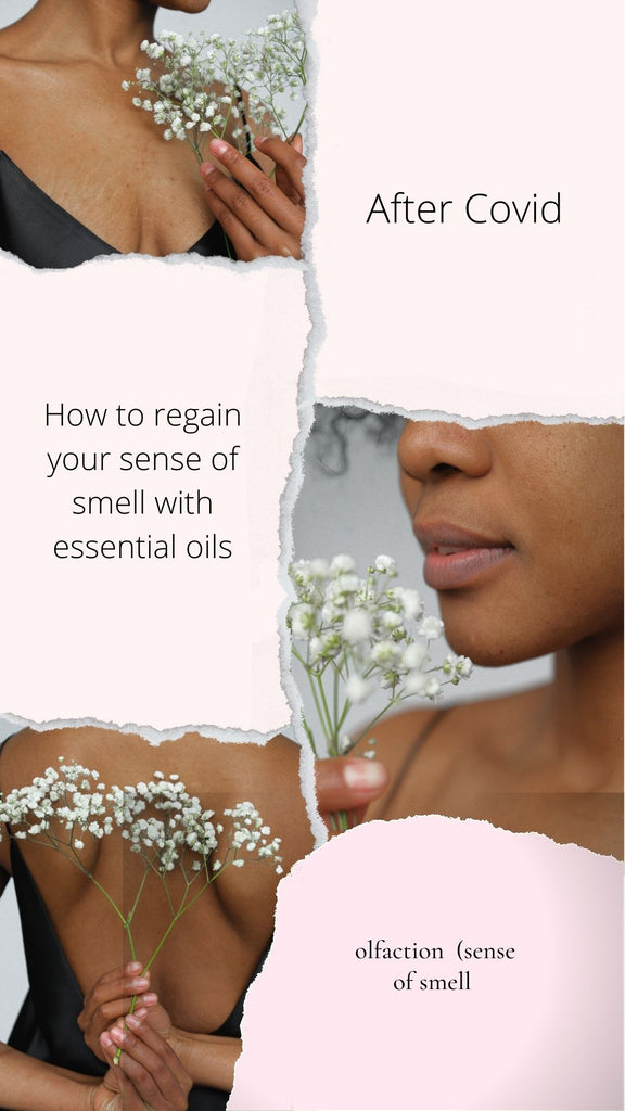How to regain your sense of smell with essential oils