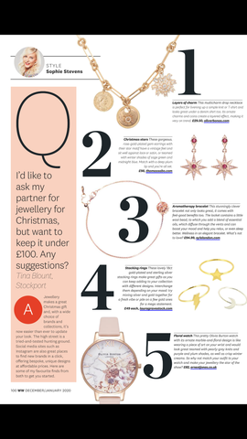 WW Magazine, Top 3 Jewellery Gifts