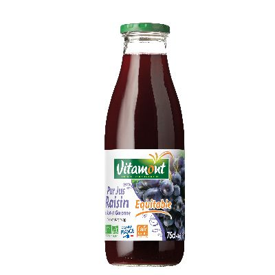 Jus Raisin Rouge 75 Cl Vitamont