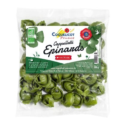 Capelletti Epinards 250g Coquelicot