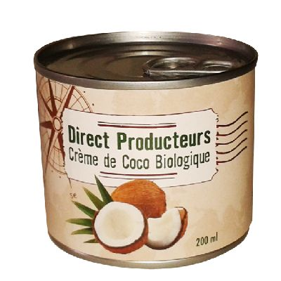 Creme Coco 200ml Direct Producteur