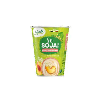 So Soja Peche/Sureau 400g