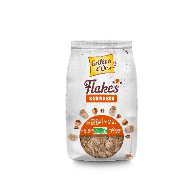 Flakes Sarrasin 200g Grillon Or