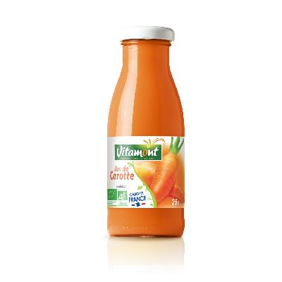Mini Jus Carotte 250 Ml Vitamont
