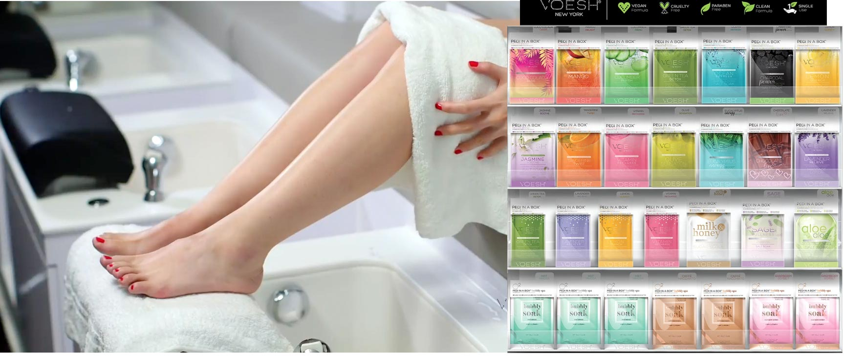 Revolutionise your Salon or Spa Services with VOESH
