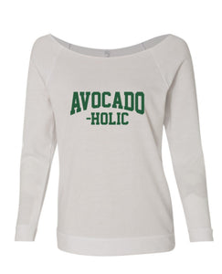 Avocadoholic Off The Shoulder Sweatshirt