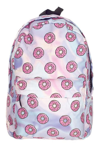 Pink Donut Backpack