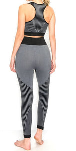 Black & Grey Yoga Set