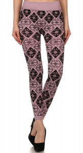 Boho Diamond Leggings