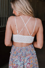 Load image into Gallery viewer, Lace Bralette in White