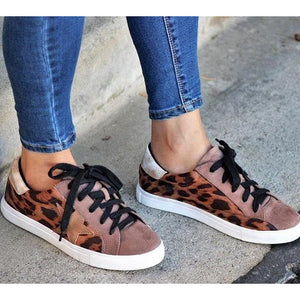 Super Star Leopard Sneakers