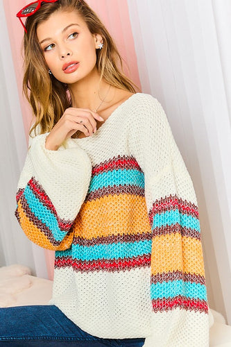 Spring Boyfriend Sweater