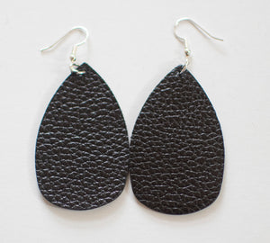 Teardrop Earrings- Textured (more color options)
