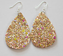 Load image into Gallery viewer, Teardrop Earrings - Sparkle (more color options)