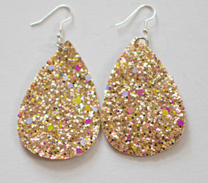 Teardrop Earrings - Sparkle (more color options)