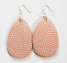 Load image into Gallery viewer, Teardrop Earrings- Textured (more color options)
