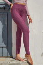 Load image into Gallery viewer, Textured Leggings in Plum