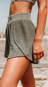 Waffle Knit Lounge Shorts (more color options)