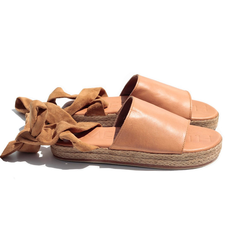 The Wrap Espadrille-Island Tan