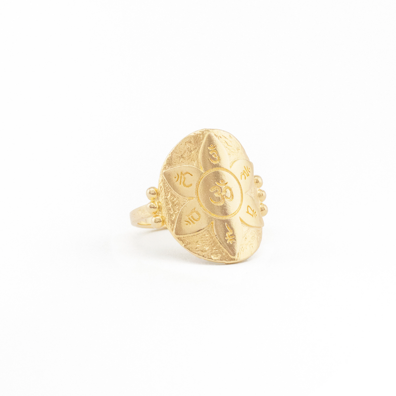 Gold Eternal Harmony Ring L