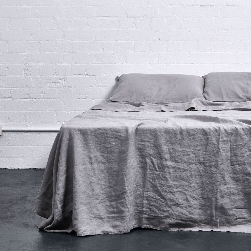 Double Flat Sheet-Cool Grey