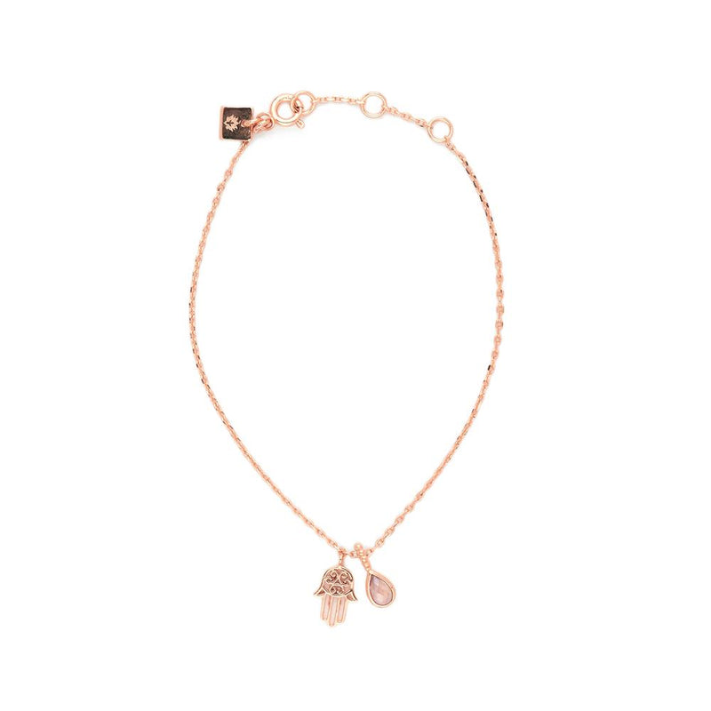 Rose Gold Protection Bracelet
