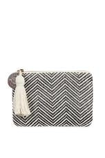 Tigerlily Woven Coin Purse