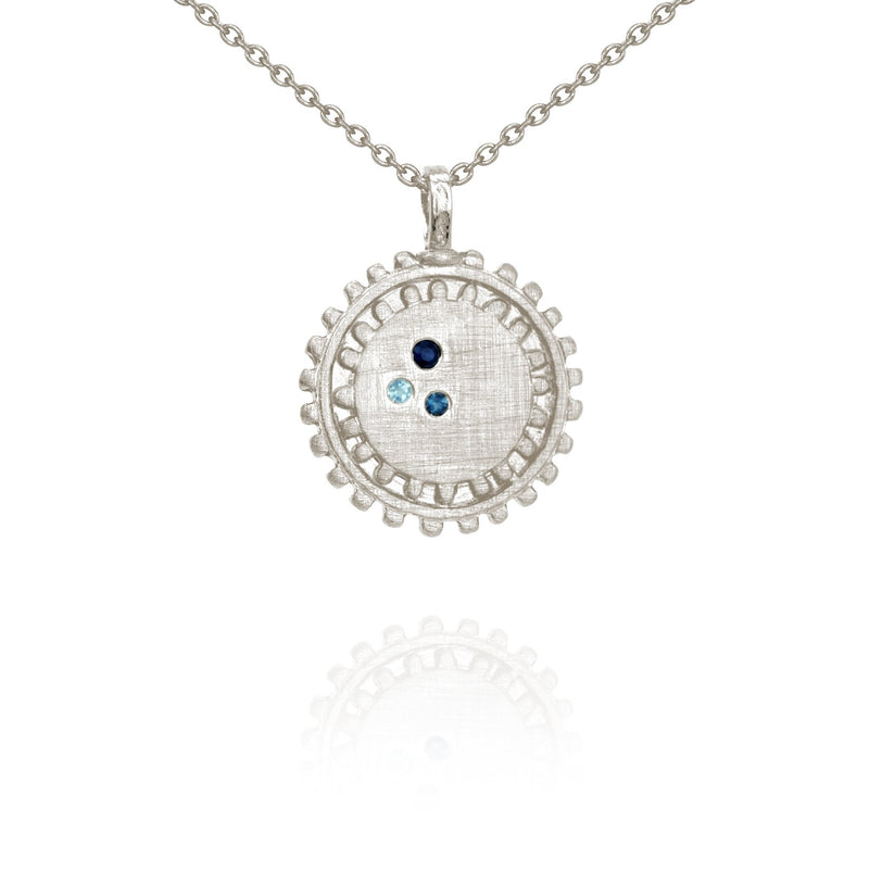 Nova Necklace-Silver