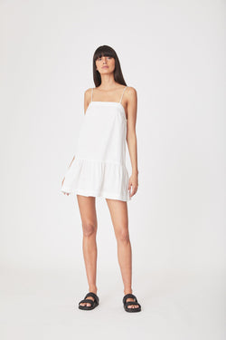 Sunny Organic Mini Dress - Bone