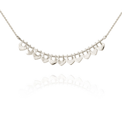 Delli Necklace-Silver