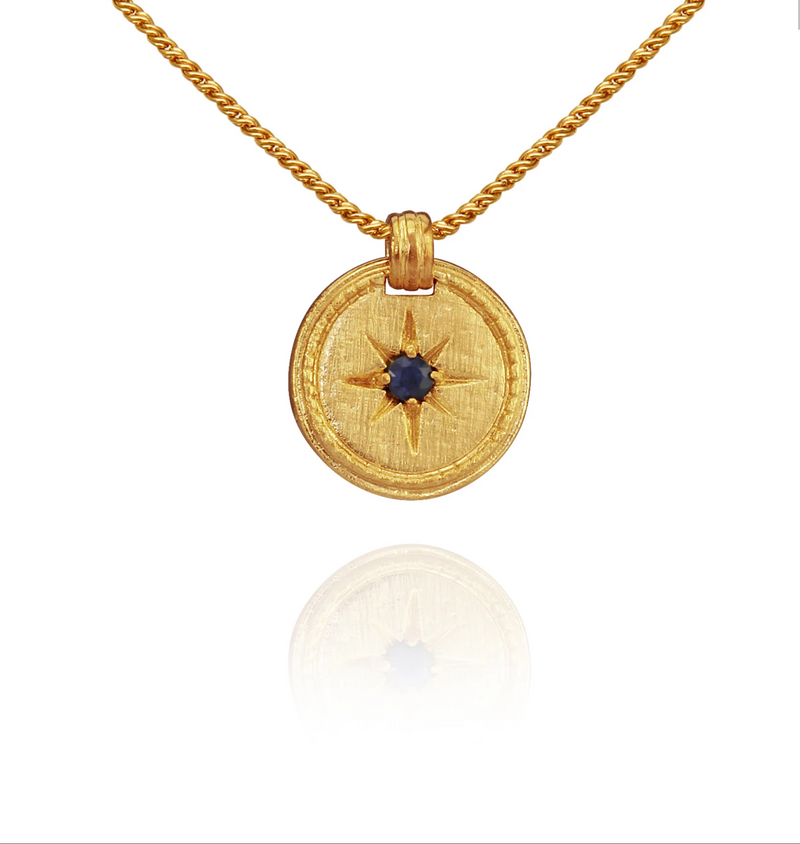Stella Necklace-Gold