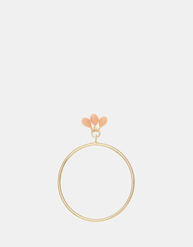 Rose Gold Coral Mermaid Ring