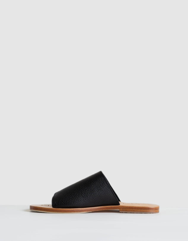 Off-Duty Shoes-Black Natural