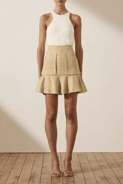 Carmen Mini Skirt with pockets