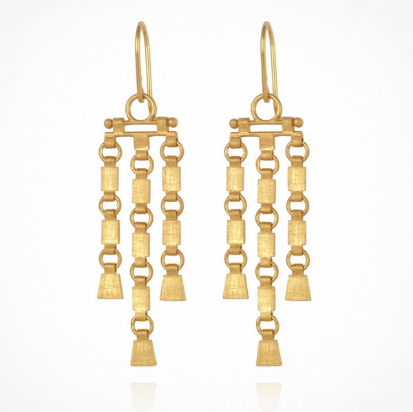 Sharni Earrings - Gold