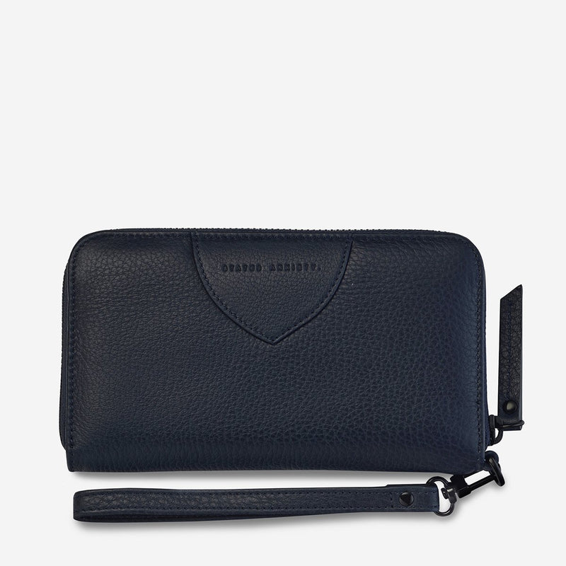 Moving On Wallet - Navy Blue