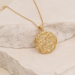 Aquarius Necklace - Gold