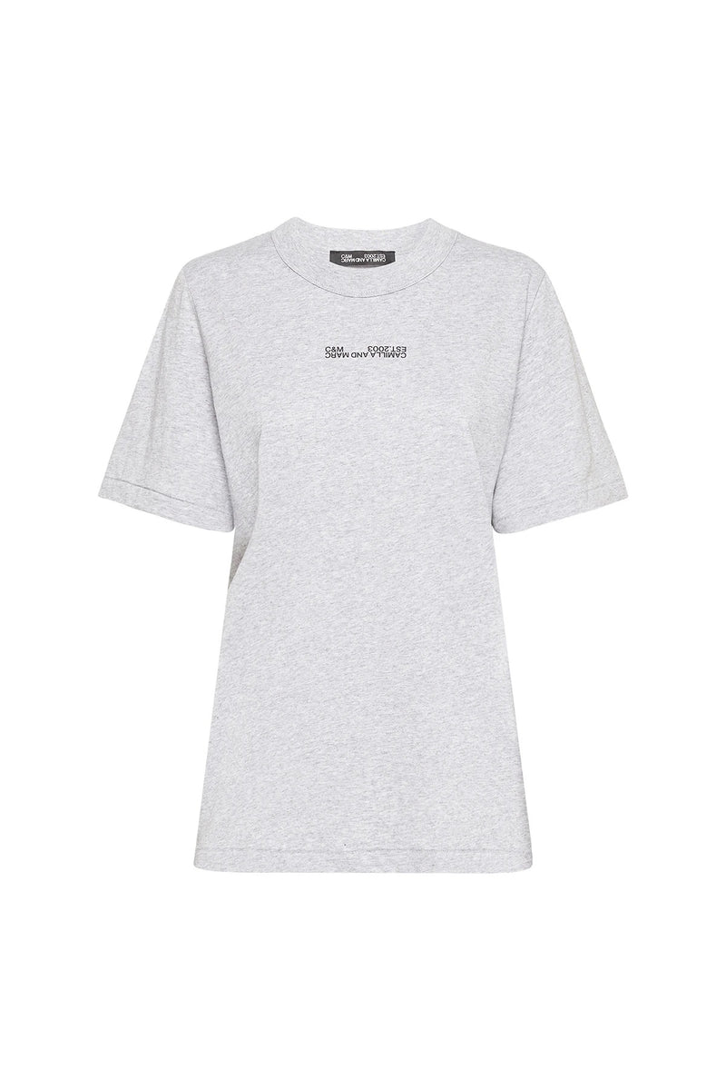 George 2.0 Tee - Grey Marle