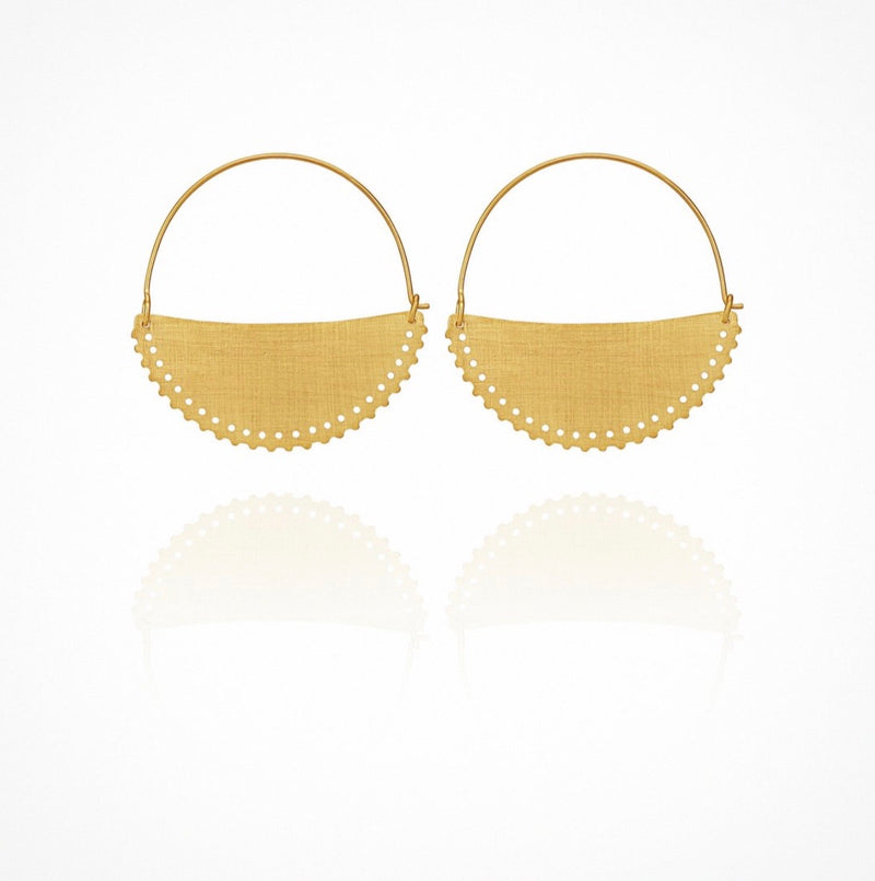 Klio Earrings  Small - Gold