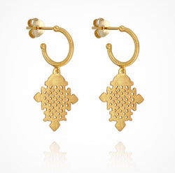 Silva Earrings - Gold
